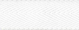Wit keperband 25 mm (ca. 45 m)