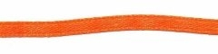Oranje dubbelzijdig satijnband 3 mm (ca. 108 m)