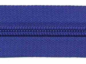 Rits kobalt blauw 30 mm (maat 5)