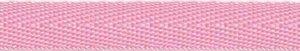 Baby roze keperband 10 mm (ca. 25 m)