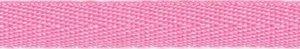 Roze keperband 10 mm (ca. 25 m)