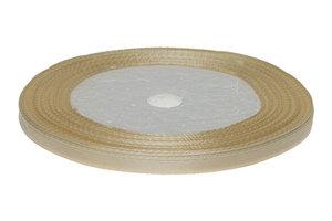 Ivoor enkelzijdig satijnband 7 mm (ca. 22 m)