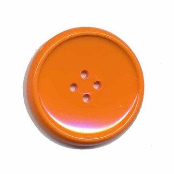 Knoop schotel oranje 35 mm (2 stuks)