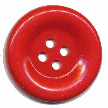 Grote knoop rood 50 mm (10 stuks)