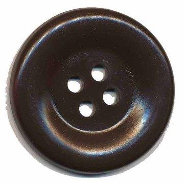 Grote knoop bruin 50 mm (10 stuks)