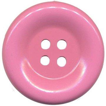 Grote knoop roze 50 mm (10 stuks)