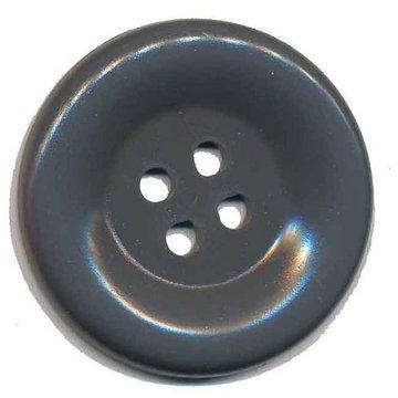 Grote knoop antraciet 50 mm (10 stuks)