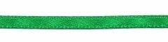 Donker groen dubbelzijdig satijnband 3 mm (ca. 108 m)