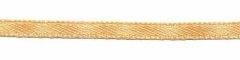 Ivoorkleurig dubbelzijdig satijnband 3 mm (ca. 108 m)