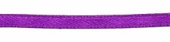 Paars dubbelzijdig satijnband 3 mm (ca. 108 m)