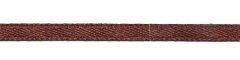 Bruin dubbelzijdig satijnband 3 mm (ca. 108 m)