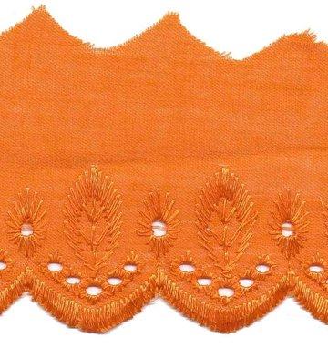 Broderie oranje 50 mm