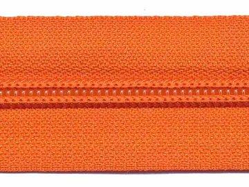 Rits oranje 30 mm (maat 5)