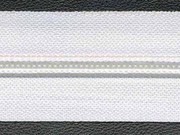 Rits wit 30 mm (maat 5)