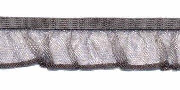 Grijs roezel elastiek 19 mm (ca. 10 meter)