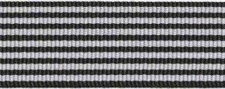 Zwart-wit streepband 27 mm (ca. 45 m)
