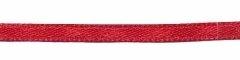 Bordeaux dubbelzijdig satijnband 3 mm (ca. 108 m)