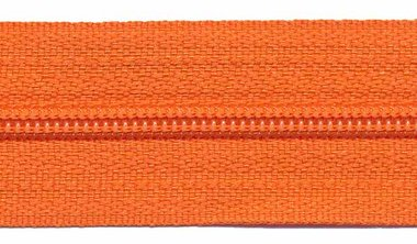Rits oranje 25 mm (maat 3)