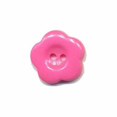 Bloemknoop roze 15 mm