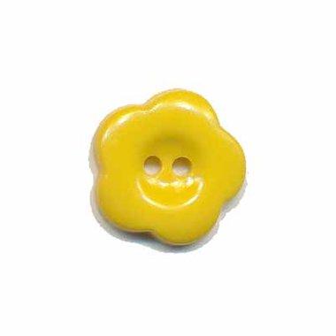 Bloemknoop geel 15 mm (ca. 50 stuks)