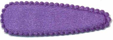 Haarkniphoesje fluweel paars 5 cm (ca. 20 stuks)