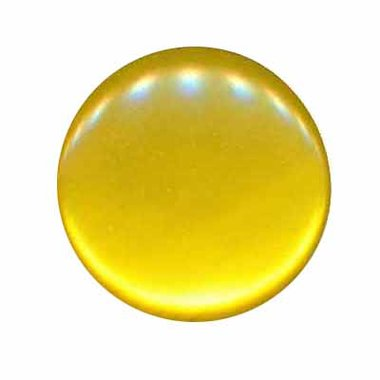 Knoop glans geel 25 mm (ca. 25 stuks)