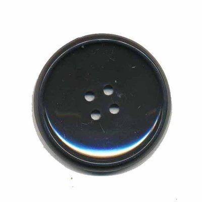 Knoop schotel donker grijs 35 mm (2 stuks)