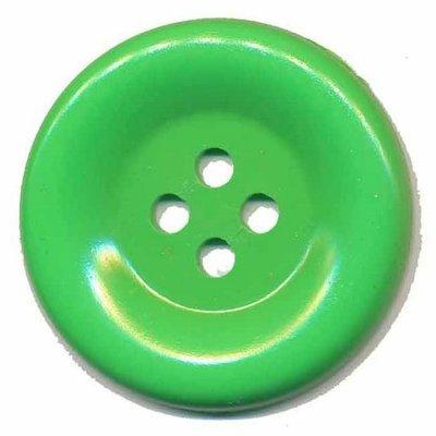 Grote knoop licht groen 50 mm (10 stuks)