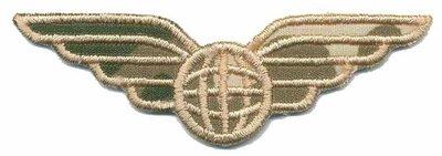 Applicatie leger/army wing (5 stuks)