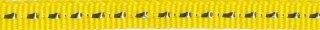 Geel band met zilverdraad 7 mm (ca. 25 m)