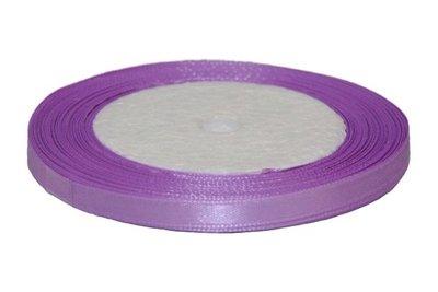 Lila enkelzijdig satijnband 7 mm (ca. 22 m)