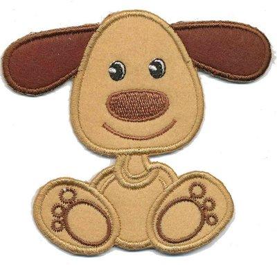Applicatie hond bruin