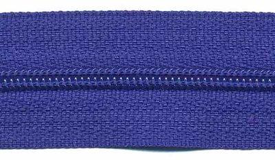 Rits kobalt blauw 25 mm (maat 3)
