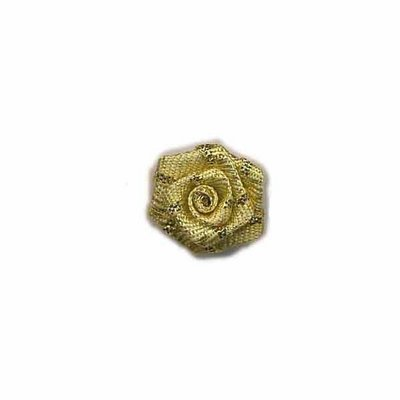 Roosje goud 15 mm (5 stuks)
