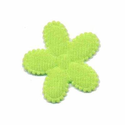 Applicatie bloem groen middel