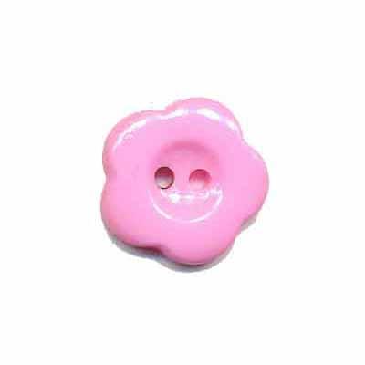 Bloemknoop baby roze 15 mm