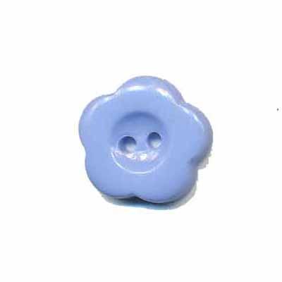 Bloemknoop lavendel/blauw 15 mm