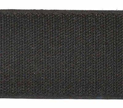 Klittenband 50 mm zwart