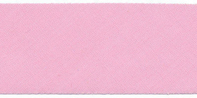 Lichtroze #37 ongevouwen biaisband 30 mm (ca. 10 meter)